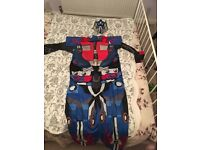 Adult Optimus Prime/Transformers outfit, size XL, worn once to a children's party