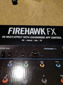 Line 6 Firehawk FX Multi Effects Pedal[bought for £339.99]