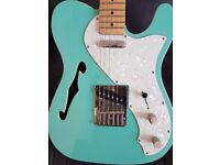Fender telecaster style electric guitar