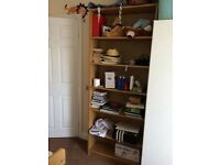 Oak Bookcase 200 cm tall