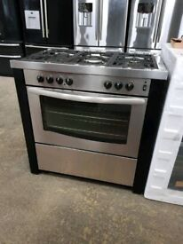 Stainless Steel 90 cm NEW WORLD PROFESSIONAL 5 Burners RANGE COOKER With Single Oven