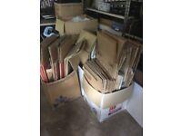 Free good quality cardboard boxes