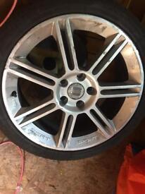 Seat Leon 18inch alloy wheel