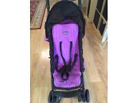 Chicco Echo Stroller - Purple Jam--£18 Very good condition