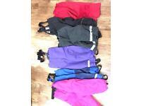 Ski warm kids trousers / salopettes