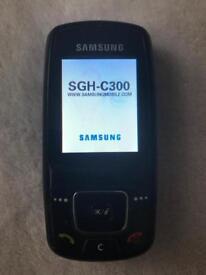 Samsung C300 nobel Black unlocked ..