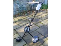 FOLDING GOLF TROLLEY - NEW AND UNUSED (PRE-OWNED)