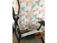 York cross trainer and exercise bike