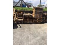 Free pallets of all sizes