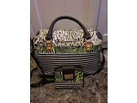 River Island bag and wallet