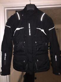 Frank Thomas motorcycle jacket, size small