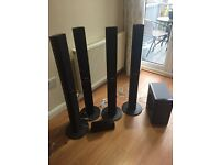 Set of 6 Panasonic speakers for sale