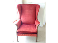 Parker Knoll wing back chairs