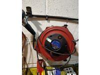 Sealy retractable work lights x2