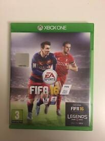 Fifa 16, Xbox one.