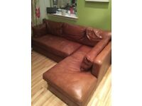 Olympian Furniture L shape sofa with storage under seats