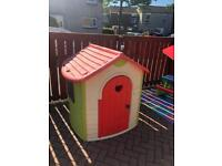Kids outdoor play house