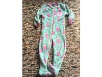 Girls Peppa pig fleecy onesie age 4-5 Years