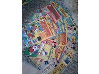 Disney magazines for children. 1980's