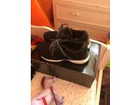 Size 3 black trainers