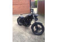 Custom bobber bike