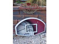 Lifetime basketball backboard - Used