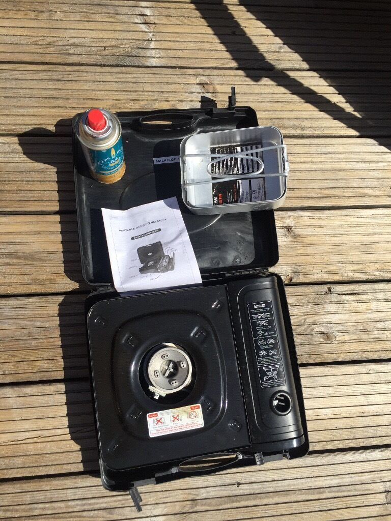 Halfords single ring camping stove & two mess tins | in Rutherglen ...