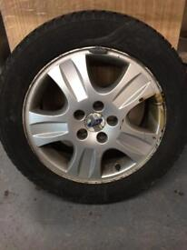 Ford spare alloy wheel with a Goodyear 205/55/16 tyre