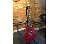 PRS CE-24 Electric Guitar with Tremolo Arm and Gig Bag - Red