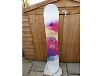 Salomon lotus 146 snowboard £120