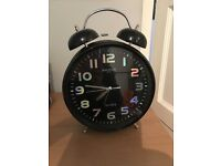 Large alarm clock ideal for child's bedroom