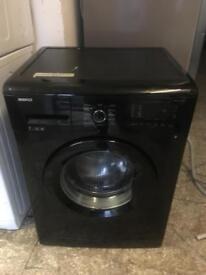 Beko washing machine 7kg black