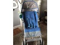 Maclaren xt in blue £45 today no offers total bargain no timewasters