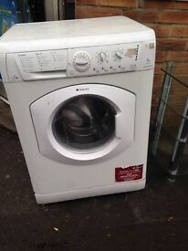 A washer dryer (Hotpoint)