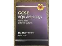 GCSE AQA Anthology CGP Study Guide Revision Books