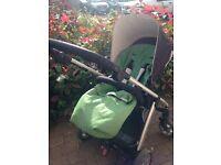 Great Mamas and Papas Sola pushchair (+ free car seat)