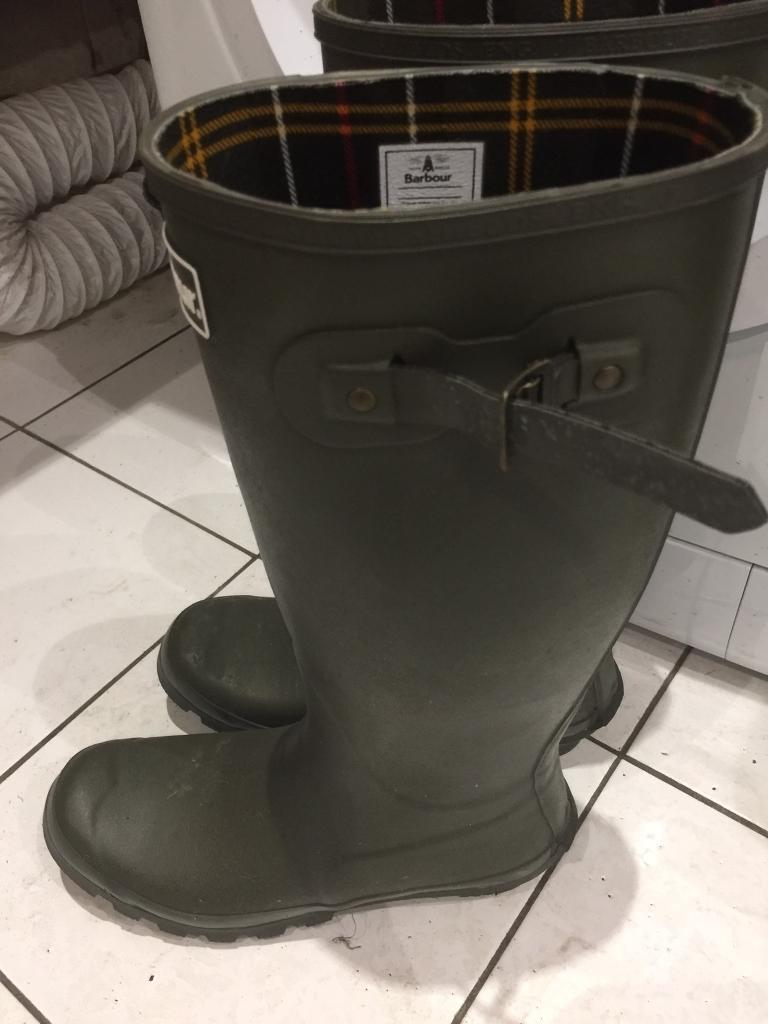 Barbour Wellington boots Men's Size 9