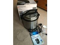 Ambiano Electric Multi Cooker (slow cooker and pressure cooker in one) 6 litre
