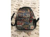 Marvel heroes back pack/ rucksack