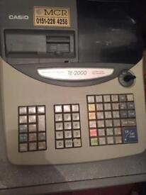 Cash till register and drawer