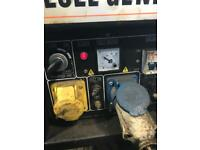 Diesel generator 110v and 240v
