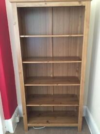 Oak effect ikea bookshelves SOLD
