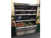 Large shop display fridge for sale
