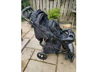 Mothercare Trenton complete pram and pushchair travel system.