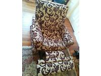 Reclining armchair for sale