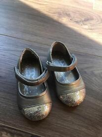 Next infant silver shoes