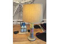 NEXT PRETTY COTTON REEL LAMP - BARGAIN! - FURNITURE