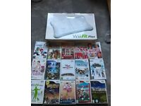 Lots of Wii accessories and games