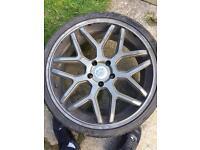 20' BMW Wheels 245 30 r20