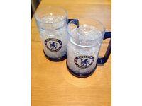 Chelsea FC mugs x 2